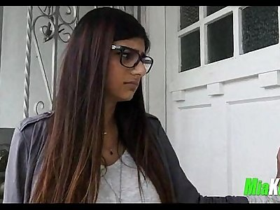 Mia Khalifa takes 2 big black cocks 6 91